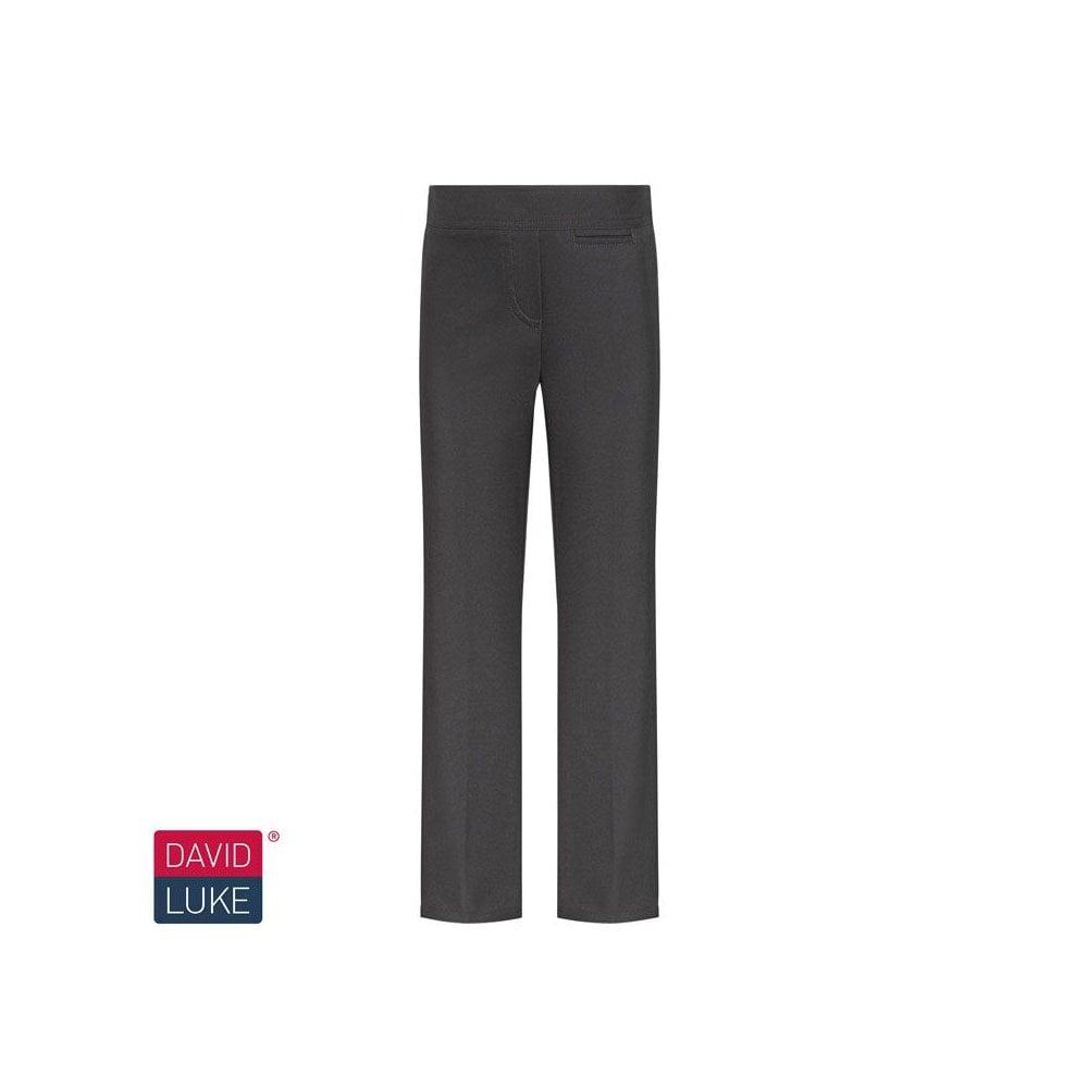 6dd90a665c3c GIRLS BLACK JUNIOR SLIM FIT TROUSER - Plain Range from Smarty Schoolwear  LTD UK