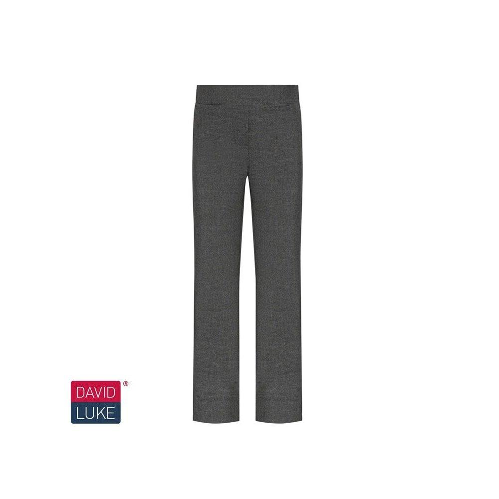 0305e87d97a GIRLS GREY JUNIOR SLIM FIT TROUSER - Plain Range from Smarty Schoolwear LTD  UK